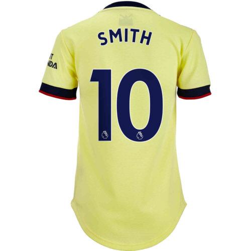 2021/22 Womens adidas Emile Smith Rowe Arsenal Away Jersey