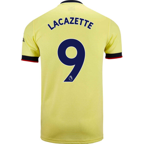 2021/22 Kids adidas Alexandre Lacazette Arsenal Away Jersey