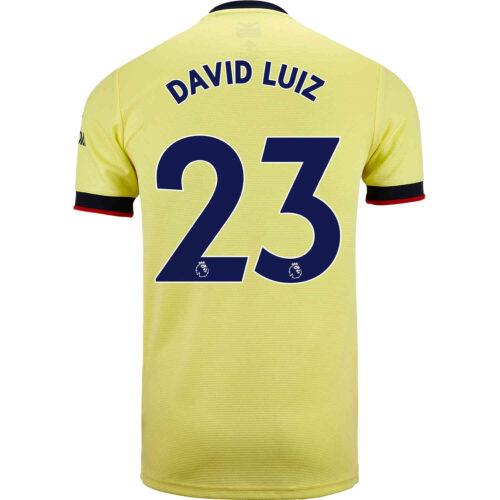 2021/22 Kids adidas David Luiz Arsenal Away Jersey