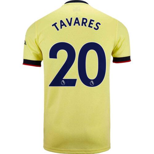 2021/22 Kids adidas Nuno Tavares Arsenal Away Jersey