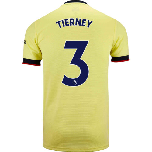 2021/22 Kids adidas Kieran Tierney Arsenal Away Jersey