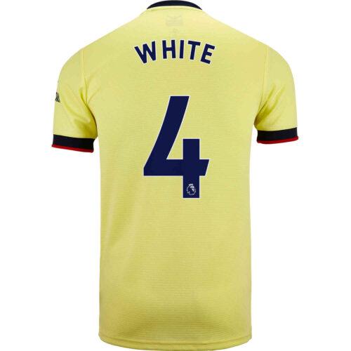 2021/22 Kids adidas Ben White Arsenal Away Jersey
