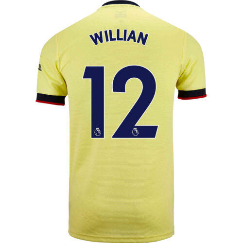 2021/22 Kids adidas Willian Arsenal Away Jersey