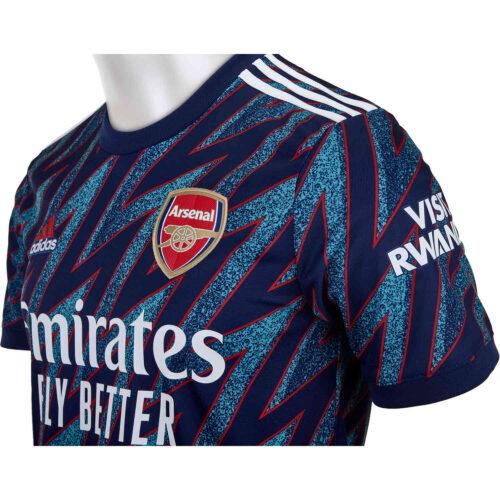 2021/22 Kids adidas Gabriel Martinelli Arsenal 3rd Jersey