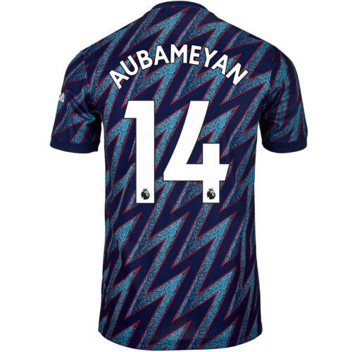 2021/22 Kids adidas Pierre-Emerick Aubameyang Arsenal 3rd Jersey