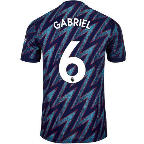 2021/22 Kids adidas Gabriel Arsenal 3rd Jersey