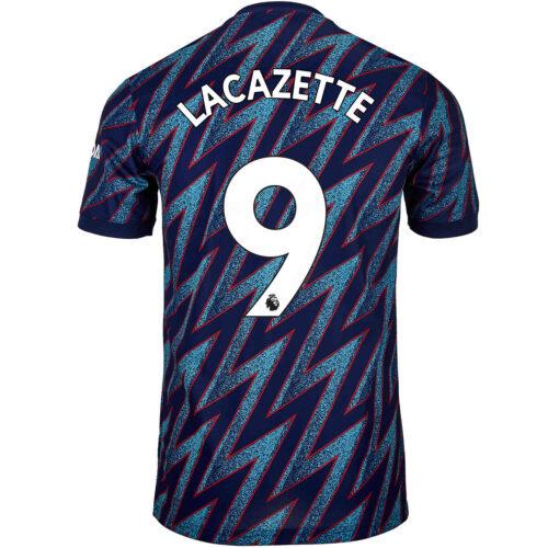 2021/22 Kids adidas Alexandre Lacazette Arsenal 3rd Jersey