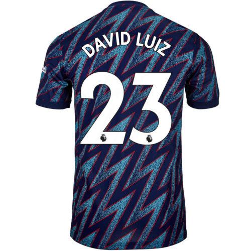 2021/22 Kids adidas David Luiz Arsenal 3rd Jersey