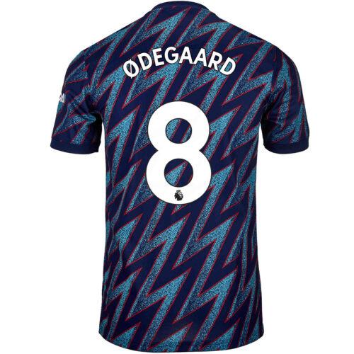 2021/22 Kids adidas Martin Odegaard Arsenal 3rd Jersey