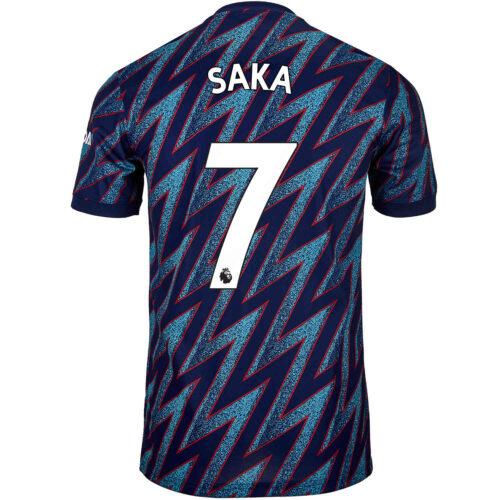 2021/22 Kids adidas Bukayo Saka Arsenal 3rd Jersey