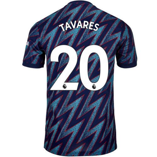 2021/22 Kids adidas Nuno Tavares Arsenal 3rd Jersey