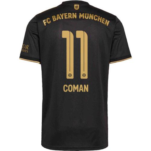 2021/22 Kids adidas Kingsley Coman Bayern Munich Away Jersey