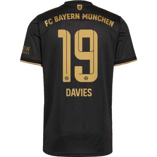 2021/22 Kids adidas Alphonso Davies Bayern Munich Away Jersey
