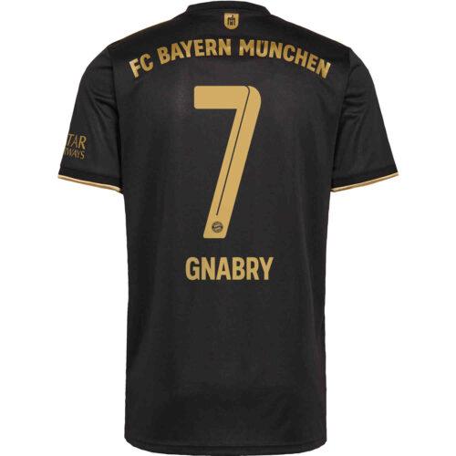 2021/22 Kids adidas Serge Gnabry Bayern Munich Away Jersey