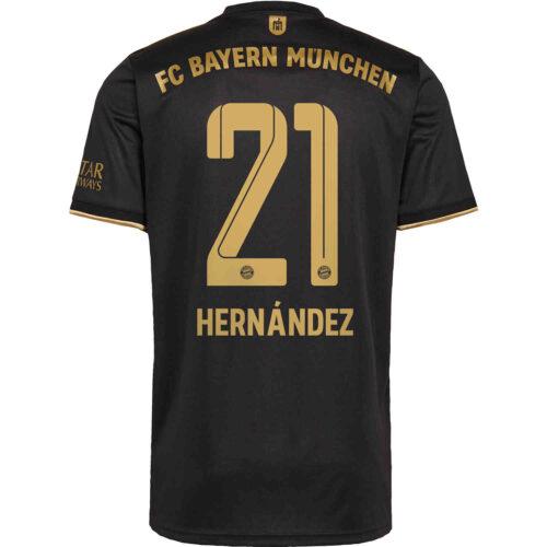 2021/22 Kids adidas Lucas Hernandez Bayern Munich Away Jersey