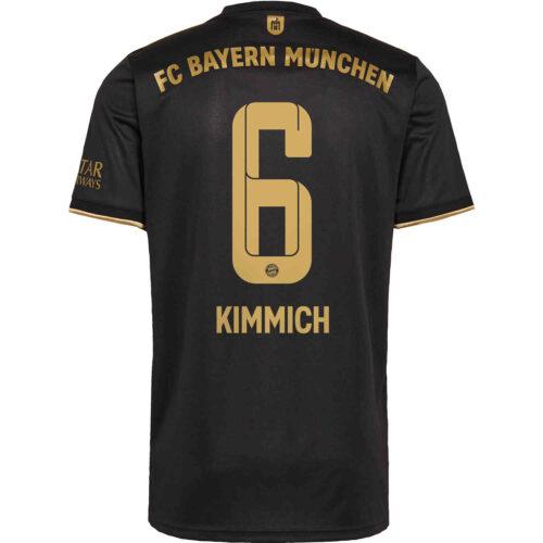 2021/22 Kids adidas Joshua Kimmich Bayern Munich Away Jersey