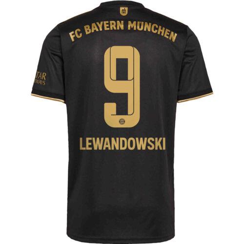 2021/22 Kids adidas Robert Lewandowski Bayern Munich Away Jersey
