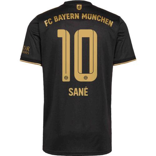 2021/22 Kids adidas Leroy Sane Bayern Munich Away Jersey