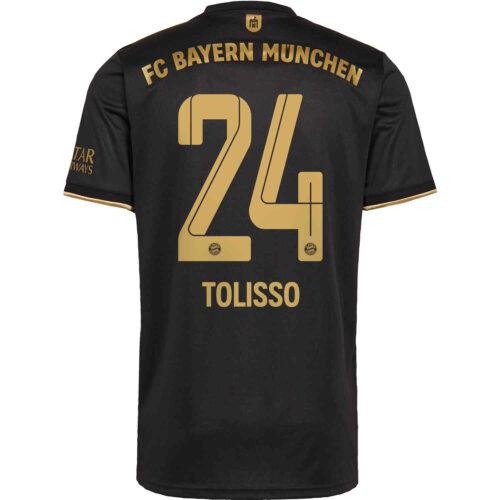 2021/22 Kids adidas Corentin Tolisso Bayern Munich Away Jersey