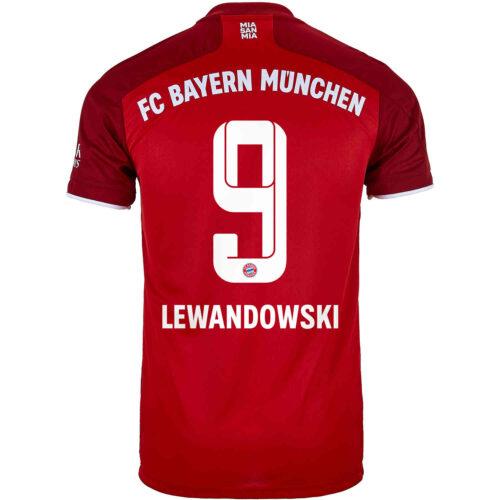 2021/22 Kids adidas Robert Lewandowski Bayern Munich Home Jersey