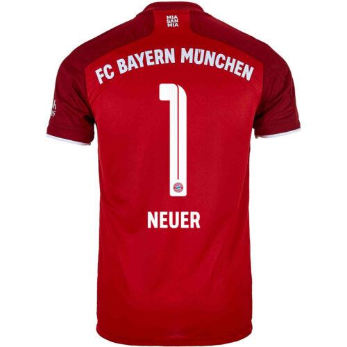 2021/22 Kids adidas Manuel Neuer Bayern Munich Home Jersey