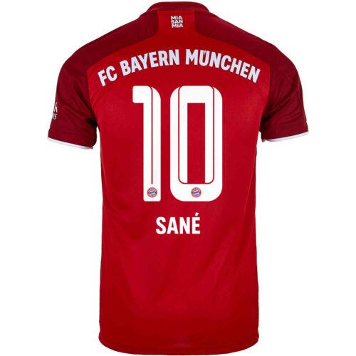 2021/22 Kids adidas Leroy Sane Bayern Munich Home Jersey