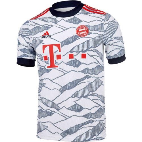 2021/22 Kids adidas Bayern Munich 3rd Jersey