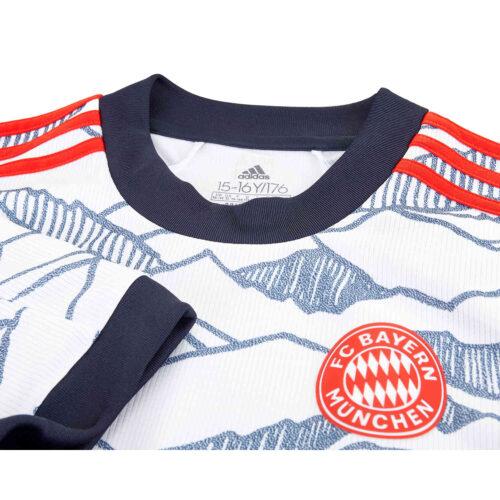 2021/22 Kids adidas Benjamin Pavard Bayern Munich 3rd Jersey
