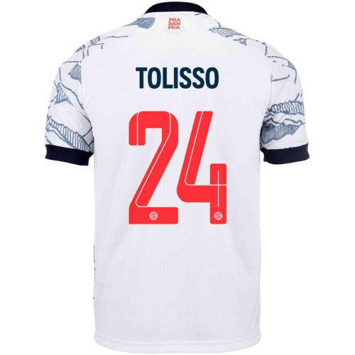 2021/22 Kids adidas Corentin Tolisso Bayern Munich 3rd Jersey