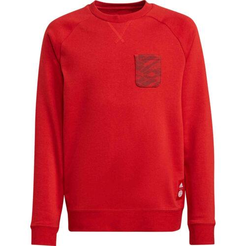 Kids adidas Bayern Munich Crew Sweatshirt – FCB True Red