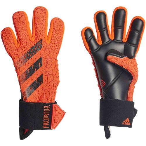 Kids adidas Predator Pro Goalkeeper Gloves – Meteorite