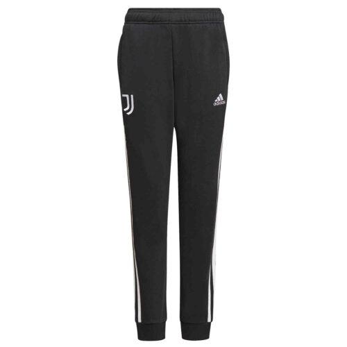Kids adidas Juventus Sweat Pants – Black/White