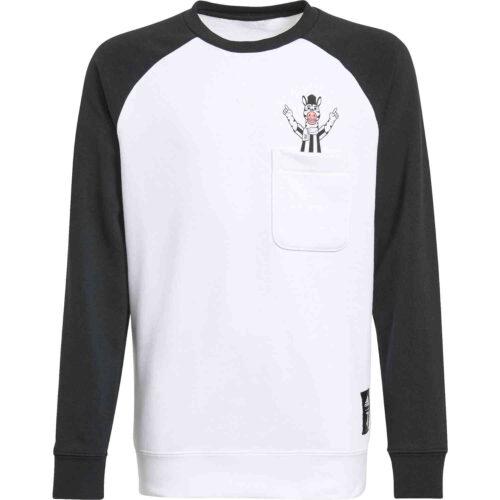 Kids adidas Juventus Sweatshirt – Black/White