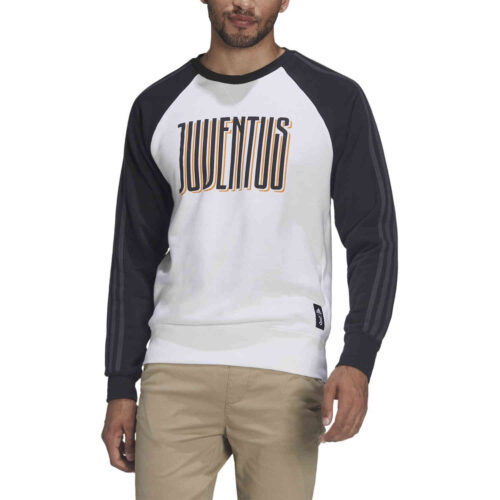 adidas Juventus Graphic Crew Sweatshirt – Black/White