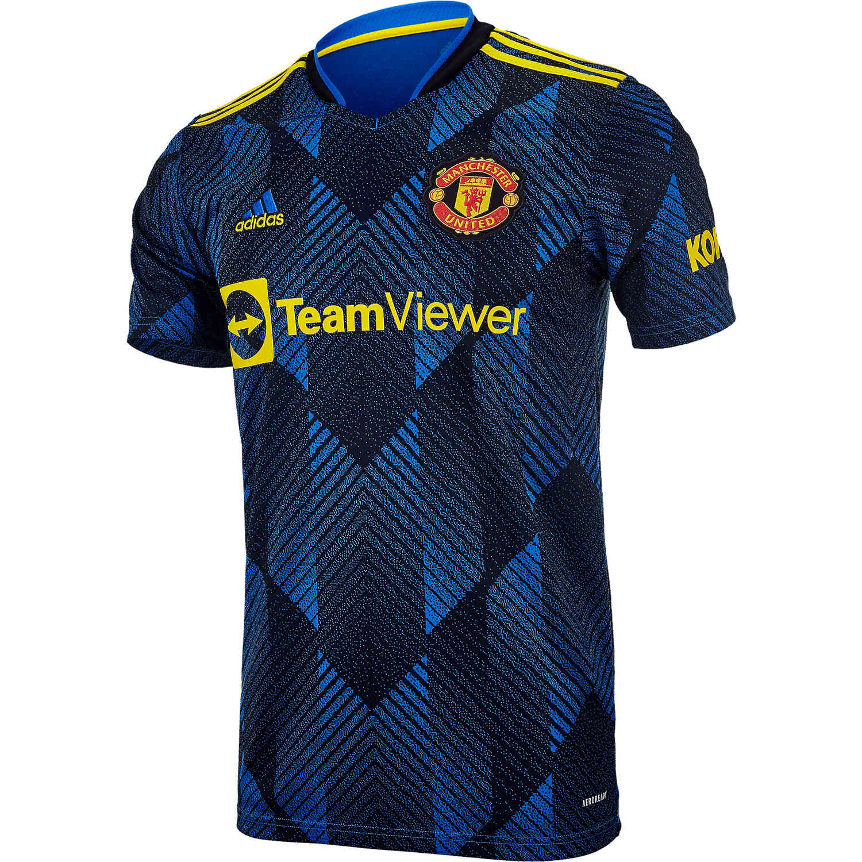 2021/22 Kids adidas Manchester United 3rd Jersey - SoccerPro