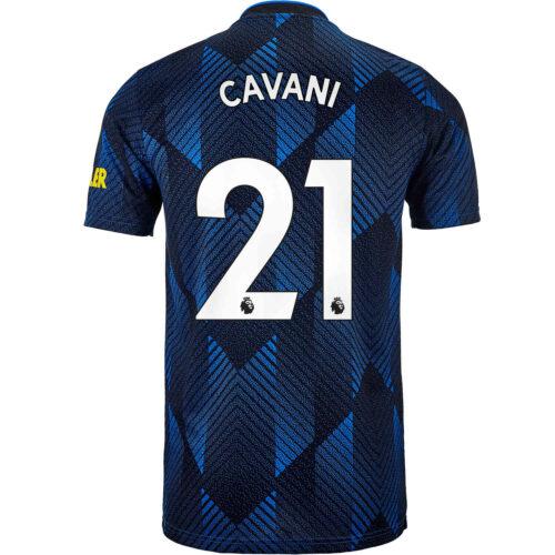 2021/22 Kids adidas Edinson Cavani Manchester United 3rd Jersey