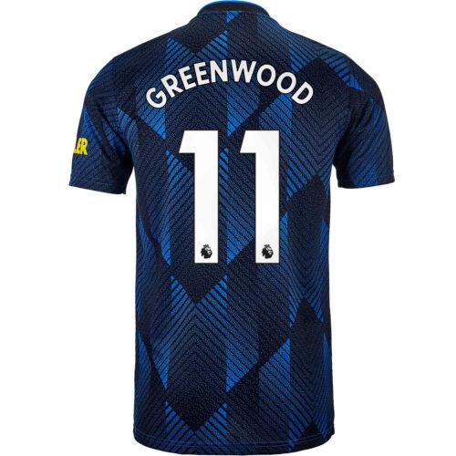 2021/22 Kids adidas Mason Greenwood Manchester United 3rd Jersey