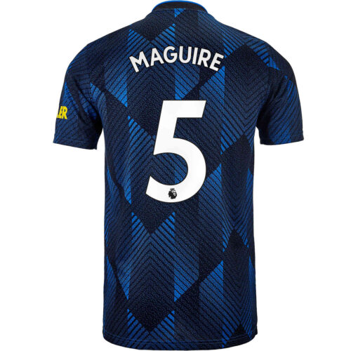 2021/22 Kids adidas Harry Maguire Manchester United 3rd Jersey