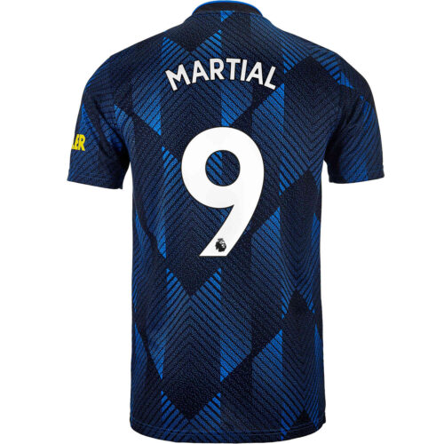 2021/22 Kids adidas Anthony Martial Manchester United 3rd Jersey