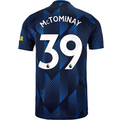 2021/22 Kids adidas Scott McTominay Manchester United 3rd Jersey