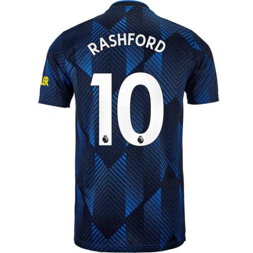 2021/22 Kids adidas Marcus Rashford Manchester United 3rd Jersey