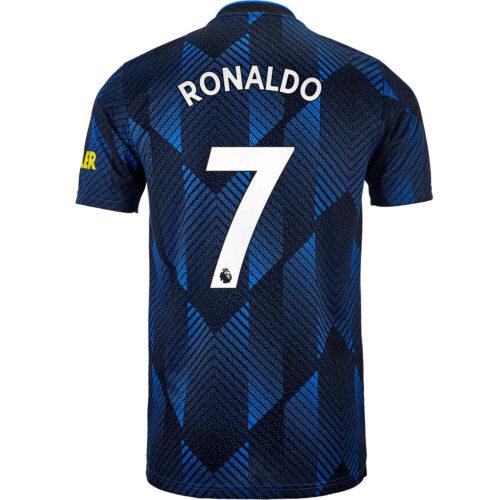2021/22 Kids adidas Cristiano Ronaldo Manchester United 3rd Jersey
