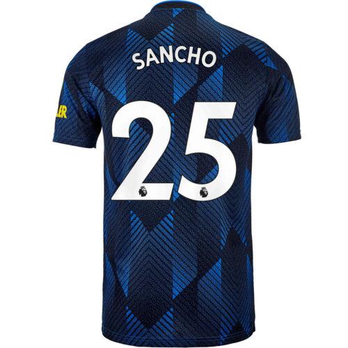 2021/22 Kids adidas Jadon Sancho Manchester United 3rd Jersey