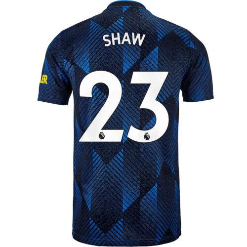 2021/22 Kids adidas Luke Shaw Manchester United 3rd Jersey