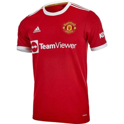 2021/22 Kids adidas Edinson Cavani Manchester United Home Jersey