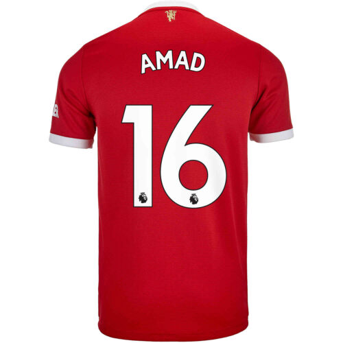 2021/22 Kids adidas Amad Diallo Manchester United Home Jersey