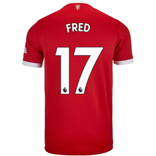 2021/22 Kids adidas Fred Manchester United Home Jersey