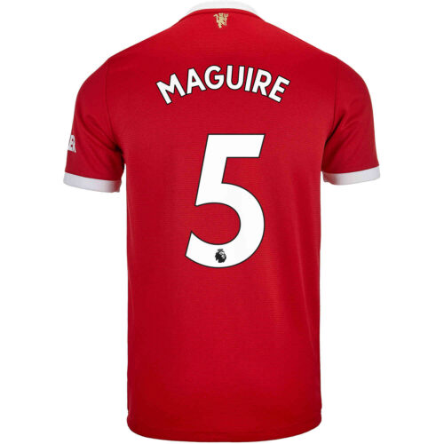 2021/22 Kids adidas Harry Maguire Manchester United Home Jersey