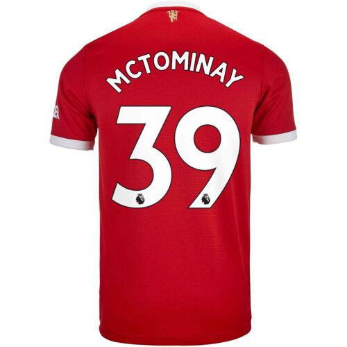 2021/22 Kids adidas Scott McTominay Manchester United Home Jersey