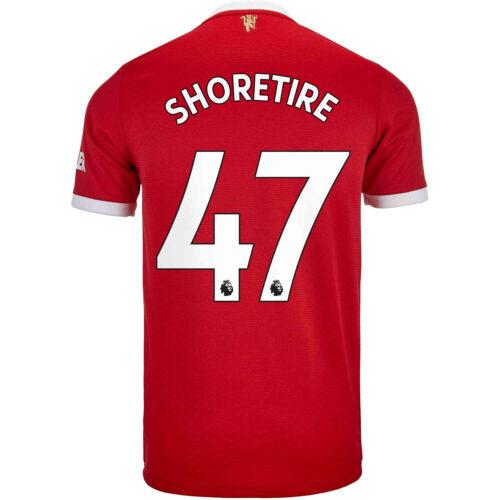 2021/22 Kids adidas Shola Shoretire Manchester United Home Jersey